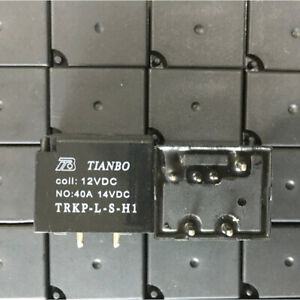 TIANBO TRKP-L-S-H1 12VDC Power Relay  6Pins 40A