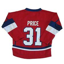 New NHL Reebok Montreal Canadiens Carey Price #31 Hockey Jersey Boys Size 4