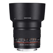 Brand New Samyang 85mm f/1.4 AS IF Lens Pentax K