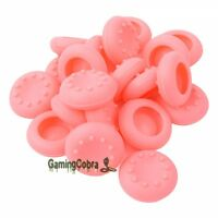 20 PCS Pink Controller Thumb Stick Grip Thumbstick Cap Covers for Xbox One PS4