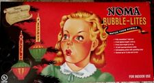 Noma Bubble Lites Christmas Lights Tree Decorations 7 Count Novelty Retro NIB!
