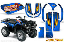 YAMAHA GRIZZLY 660 CREATORX GRAPHICS KIT DECALS STICKERS LSBL