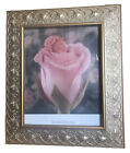 """Anne Geddes Framed Print Baby Rose Gold Table or Wall 12x13.5"""" Wall Art Decor"""