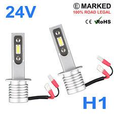 2 x 24v LED H1 466 Headlight Hella Spot 320FF HGV Truck Xenon White P14.5S