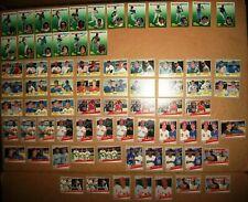 1989 Fleer baseball set break subsets All Star Team 1-12 Prospects lot 73 Nm