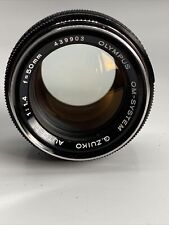 Olympus OM-System Auto-S 50mm 1:1.4 Objektiv #439903-40