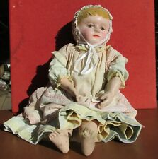 Martha Chase Stockinette doll Pre 1920's 21 inch Original period clothing marked
