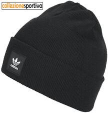 adidas Adicolor Cuff Cappello Berretto da Uomo - Black (ED8712)