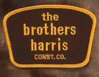 the brothers harris Patch - Construction Company - Vintage