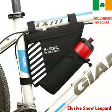 Storage Bags Front Tube Triangle Frame Pack Pouch Bicycle Cycling Free Light