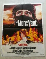 Cinema Plakat Le Löwe Und Le Wind John Huston Sean Connery John Milius 1975