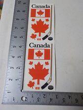 FRANCES MEYER CANADA FLAG MAPLE LEAF HOCKEY STICK STICKERS SCRAPBOOKING A3064