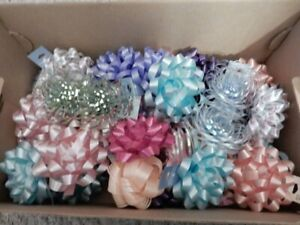 HALLMARK AMERICAN GREETINGS Lot of 10 Gift Wrapping Bows!  Vintage...