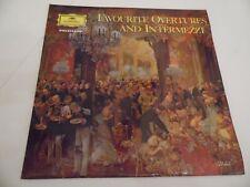 "FAVOURITE OVERTURES AND INTERMEZZI .12"" 33rpm VINYL LP RECORD .1965 ."