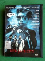 NEW JACK CITY (1991) un film di Mario Van Peebles - CUSTODIA SNAPPER CASE WARNER