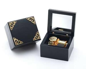 Classic Black Square Music Box  : WHAT A WONDERFUL WORLD