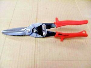 Aviation Tin Snips  Long Blade Straight Cut CrMo Blades Made in Taiwan