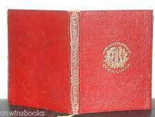 WILLIAM SHAKESPEARE Play AS YOU LIKE IT 1904 LEATHER Alice Spencer Hoffman illus