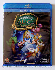 The Brilliant Comedic Masterpiece Disney Alice in Wonderland on Blu-ray and DVD