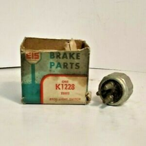 NOS MADE IN USA 3-prong Brake Stop Light Switch 1955 1956 Packard Torsion Level