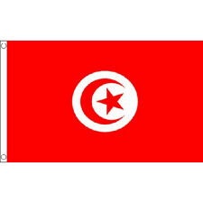 Tunisia Flag 5Ft X 3Ft Tunisian North Africa African Country Banner New