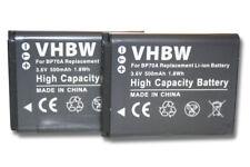 2x Bateria PARA SAMSUNG ES80 ES 80 ST93 ST 93 EA-BP70A EA-BP 70 A