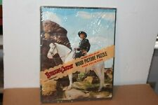 NICE VTG 1950 WHITMAN HOPALONG CASSIDY  INLAID PICTURE PUZZLE w/ ORIGINAL SEAL