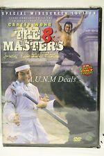 the 8 masters carter wong ntsc import dvd English subtitle