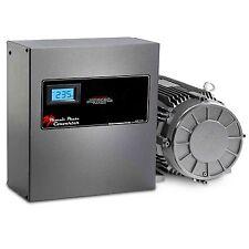10 HP Rotary Phase Converter - TEFC, Voltage Display, Industrial Grade - GP10NLV