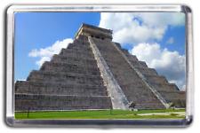 Chichen Itza - Yucatan Mexico Fridge Magnet Collectable Design Mayan Ruins
