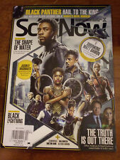 SCIFI NOW CHAD BOSEMAN BLACK PANTHER ISSUE 141 2018 MAGAZINE   NEW