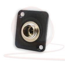 REAN RT3MP MINI XLR à 3 BROCHES TYPE D CHÂSSIS montage sur Panneau connecteur