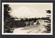 USA - Mt.Rainier from YAKIMA PARK, Washington.  RPPC by Ellis.