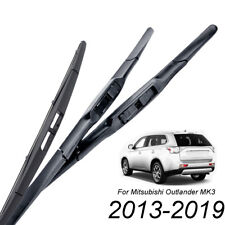 XUKEY Front Rear Windshield Wiper Blades For Mitsubishi Outlander MK3 2013-2019