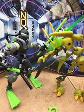 XEVOZ battle terrain 2-pack Shadow Blade & Bone Cutter battling figure kit - box