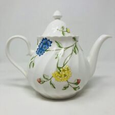 Vtg Aynsley BALI Teapot Coffee Pot Handle Lid