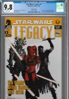 Star Wars Legacy 1 CGC 9.8 RARE 2nd Print VARIANT 1st Cade Skywalker Darth Nihl