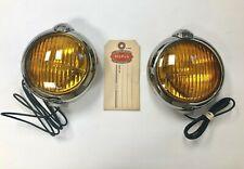 1946-1954 dodge plymouth chrysler desoto mopar accessory 6 volt fog lights!  (fits: 1953 plymouth cranbrook)