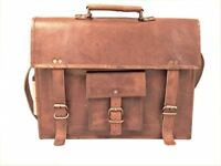 Bag Leather Men Shoulder Messenger S Satchel Laptop Briefcase Crossbody Soft Bag