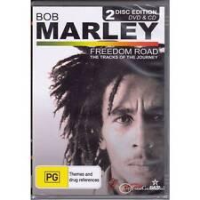 DVD BOB MARLEY FREEDOM ROAD 2-Discs DVD CD Documentary Music Biography R4 [BNS]