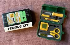 Fishing Kit Case Line Cutter Scissor Tape Measure Knife Hook Remover Thermometer