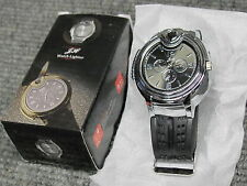 NEW Refillable Butane Gas Cigarette Cigar Wristwatch Lighter