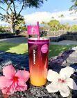 HAWAII EXCLUSIVE! STARBUCKS Summer 2021 Tumbler Sunset Pink Orange Glass 18oz