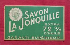 SAVON LA JONQUILLE   :  SAVON DE MARSEILLE    !