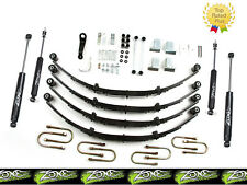"1987-1995 Jeep Wrangler YJ 4"" Full Suspension Lift Kit Zone Offroad J28"