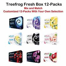 12 PACK TREE FROG BLACK SQUASH, BLK CHERRY BLK MUSK LAVENDER LEMON PEACH NEW CAR