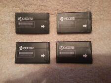 Lot of Two Genuine Kyocera TXBAT10182 Batteries 3.7 Volt 700mAh Untested READ!