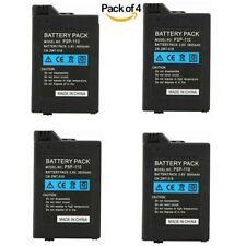 4 Pack 3.6V 3600mAh Replacment Battery for Sony PSP2000 PSP3000 Gamepad