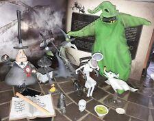 lot figurines neca l'étrange noel de Mr Jack nightmare before christmas