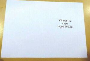 50 Printed 'Happy Birthday' Inserts for Greetings Cards(139x191mm). A5, 120gsm